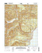 Tahoe City California Current topographic map, 1:24000 scale, 7.5 X 7.5 Minute, Year 2015 from California Map Store