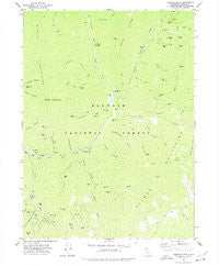 Tanners Peak California Historical topographic map, 1:24000 scale, 7.5 X 7.5 Minute, Year 1977