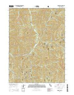 Tanners Peak California Current topographic map, 1:24000 scale, 7.5 X 7.5 Minute, Year 2015 from California Map Store