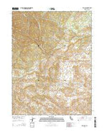 Tar Bully California Current topographic map, 1:24000 scale, 7.5 X 7.5 Minute, Year 2015 from California Map Store