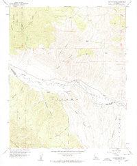 Taylor Canyon California Historical topographic map, 1:24000 scale, 7.5 X 7.5 Minute, Year 1959