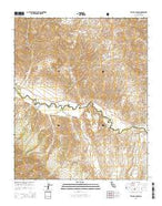 Taylor Canyon California Current topographic map, 1:24000 scale, 7.5 X 7.5 Minute, Year 2015 from California Map Store