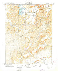 Three Tree Flat California Historical topographic map, 1:31680 scale, 7.5 X 7.5 Minute, Year 1916