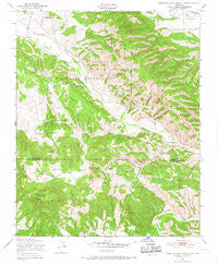 Tierra Redonda Mountain California Historical topographic map, 1:24000 scale, 7.5 X 7.5 Minute, Year 1949