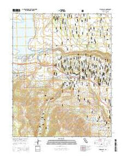 Toms Place California Current topographic map, 1:24000 scale, 7.5 X 7.5 Minute, Year 2015 from California Maps Store