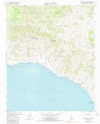 Tranquillon Mtn California Historical topographic map, 1:24000 scale, 7.5 X 7.5 Minute, Year 1959