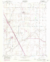 Traver California Historical topographic map, 1:24000 scale, 7.5 X 7.5 Minute, Year 1949