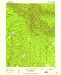 Tunnel Hill California Historical topographic map, 1:24000 scale, 7.5 X 7.5 Minute, Year 1950