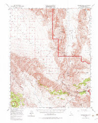 Ubehebe Peak California Historical topographic map, 1:62500 scale, 15 X 15 Minute, Year 1950