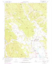 Upper Lake California Historical topographic map, 1:24000 scale, 7.5 X 7.5 Minute, Year 1958