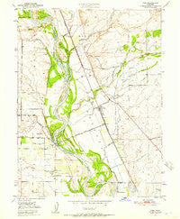 Vina California Historical topographic map, 1:24000 scale, 7.5 X 7.5 Minute, Year 1950