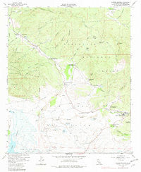 Warner Springs California Historical topographic map, 1:24000 scale, 7.5 X 7.5 Minute, Year 1959