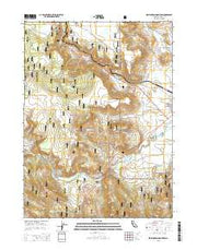 Washington Mountain California Current topographic map, 1:24000 scale, 7.5 X 7.5 Minute, Year 2015 from California Maps Store