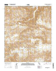 Washington Wash California Current topographic map, 1:24000 scale, 7.5 X 7.5 Minute, Year 2015 from California Maps Store