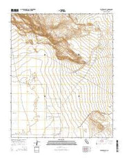 Water Valley California Current topographic map, 1:24000 scale, 7.5 X 7.5 Minute, Year 2015 from California Maps Store