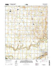 Waterford California Current topographic map, 1:24000 scale, 7.5 X 7.5 Minute, Year 2015 from California Maps Store