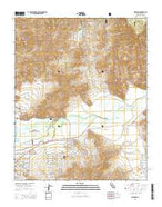 Weldon California Current topographic map, 1:24000 scale, 7.5 X 7.5 Minute, Year 2015 from California Map Store