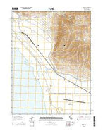 Wendel California Current topographic map, 1:24000 scale, 7.5 X 7.5 Minute, Year 2015 from California Map Store