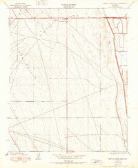 West of Goose Lake California Historical topographic map, 1:24000 scale, 7.5 X 7.5 Minute, Year 1950