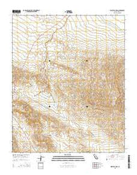 West Elk Hills California Current topographic map, 1:24000 scale, 7.5 X 7.5 Minute, Year 2015