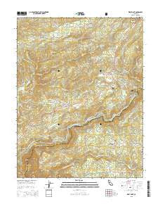 West Point California Current topographic map, 1:24000 scale, 7.5 X 7.5 Minute, Year 2015