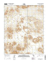 West of Nelson Lake California Current topographic map, 1:24000 scale, 7.5 X 7.5 Minute, Year 2015