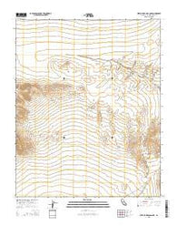 West of Red Pass Lake California Current topographic map, 1:24000 scale, 7.5 X 7.5 Minute, Year 2015