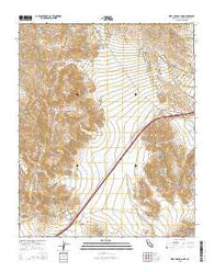West of Soda Lake California Current topographic map, 1:24000 scale, 7.5 X 7.5 Minute, Year 2015