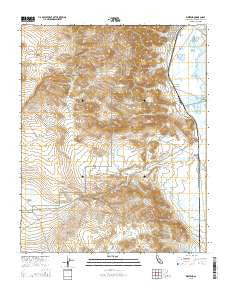 Westend California Current topographic map, 1:24000 scale, 7.5 X 7.5 Minute, Year 2015