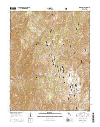 Westgard Pass California Current topographic map, 1:24000 scale, 7.5 X 7.5 Minute, Year 2015