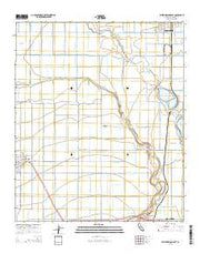 Westmorland East California Current topographic map, 1:24000 scale, 7.5 X 7.5 Minute, Year 2015 from California Maps Store