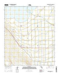 Westmorland West California Current topographic map, 1:24000 scale, 7.5 X 7.5 Minute, Year 2015