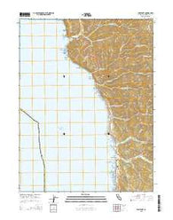 Westport California Current topographic map, 1:24000 scale, 7.5 X 7.5 Minute, Year 2015