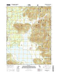 Westwood East California Current topographic map, 1:24000 scale, 7.5 X 7.5 Minute, Year 2015