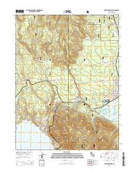 Westwood West California Current topographic map, 1:24000 scale, 7.5 X 7.5 Minute, Year 2015