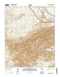 Whale Mountain California Current topographic map, 1:24000 scale, 7.5 X 7.5 Minute, Year 2015