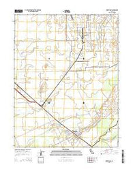Wheatland California Current topographic map, 1:24000 scale, 7.5 X 7.5 Minute, Year 2015