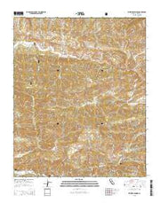 Wheeler Springs California Current topographic map, 1:24000 scale, 7.5 X 7.5 Minute, Year 2015 from California Maps Store