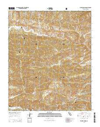 Wheeler Springs California Current topographic map, 1:24000 scale, 7.5 X 7.5 Minute, Year 2015