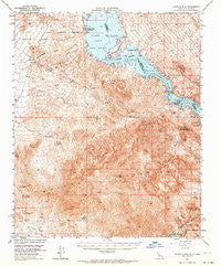 Whipple Mts California Historical topographic map, 1:62500 scale, 15 X 15 Minute, Year 1950
