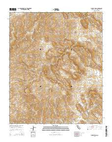 Whipple Wash California Current topographic map, 1:24000 scale, 7.5 X 7.5 Minute, Year 2015