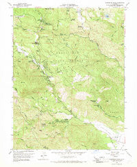 Whispering Pines California Historical topographic map, 1:24000 scale, 7.5 X 7.5 Minute, Year 1958