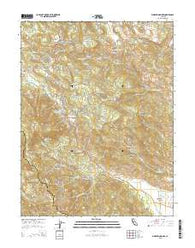 Whispering Pines California Current topographic map, 1:24000 scale, 7.5 X 7.5 Minute, Year 2015