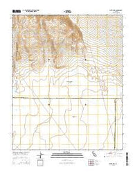White Hills California Current topographic map, 1:24000 scale, 7.5 X 7.5 Minute, Year 2015