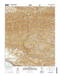 White Ledge Peak California Current topographic map, 1:24000 scale, 7.5 X 7.5 Minute, Year 2015