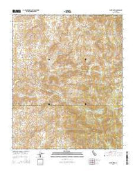White River California Current topographic map, 1:24000 scale, 7.5 X 7.5 Minute, Year 2015