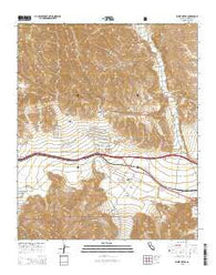 White Water California Current topographic map, 1:24000 scale, 7.5 X 7.5 Minute, Year 2015