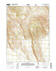 Whitinger Mountain California Current topographic map, 1:24000 scale, 7.5 X 7.5 Minute, Year 2015