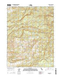 Whitmore California Current topographic map, 1:24000 scale, 7.5 X 7.5 Minute, Year 2015