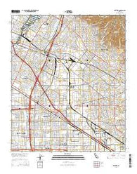 Whittier California Current topographic map, 1:24000 scale, 7.5 X 7.5 Minute, Year 2015